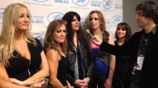 Iron Maidens Interview at NAMM 2014