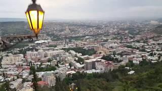 """Тбилиси. Парк """"Мтацминда"""""""
