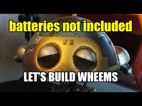 BATTERIES NOT INCLUDED Robots!!  WHEEMS. Part 1 of 3