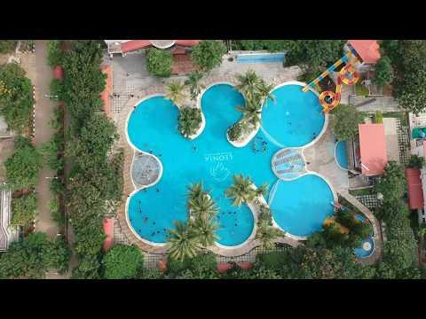 Leonia Resort Hyderabad | Leonia Resort Shamirpet | Aerial View Of Swimming Pool | Drone Shot Leonia