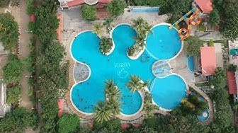 Leonia Resort Hyderabad | leonia resort shamirpet | Aerial view of Swimming Pool | Drone Shot Leonia