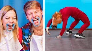 Gülmeden Durma Yarışması / Arkadaşlarınızı Güldürecek 12 Fikir