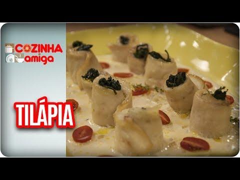Tilápia à Rolê - Raquel Novais | Cozinha Amiga (30/10/17)
