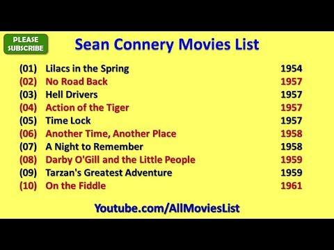 Sean Connery Movies List
