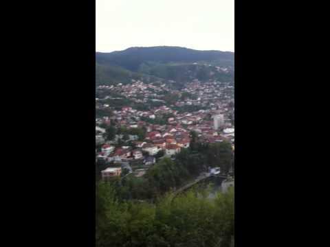 Coucher de soleil sur Sarajevo