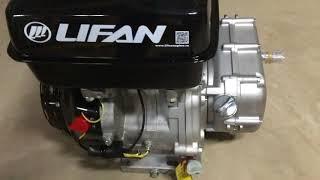 видео Двигатель Lifan 177FD-R