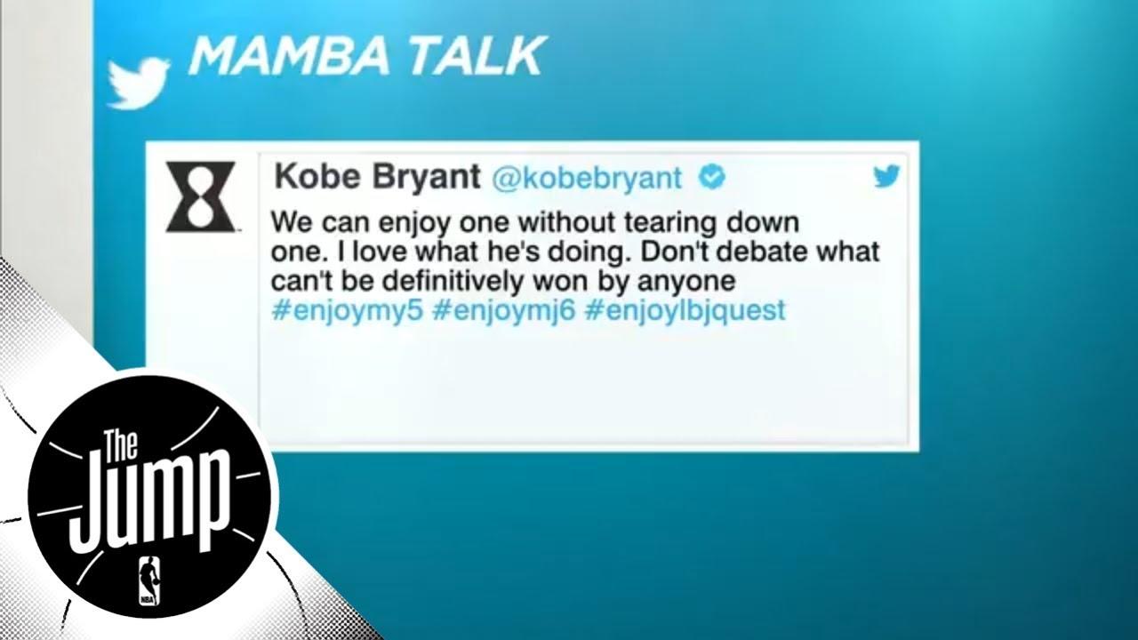 cc206db58cb Did Kobe Bryant shut down Michael Jordan vs. LeBron James debate with tweet