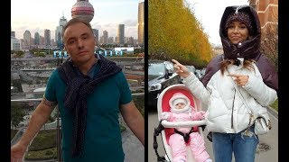 Смотреть видео Миша в Шанхае, а Настя в Москве. Скучаем.. онлайн