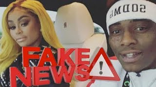 Blac Chyna & Soulja Boy's FAKE Relationship EXPOSED! Only Doing It To Get Back At Tyga!