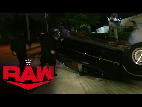 RETRIBUTION attack WWE Performance Center again: Raw, Aug. 10, 2020