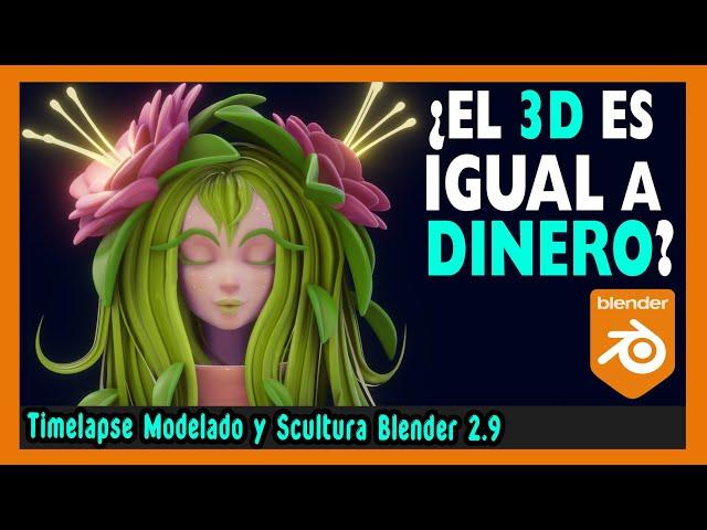 🧘🏼♀️ ¿Se puede VIVIR del MODELADO 3D? 🧘🏼♂️   Escultura digital blender 2.9   Magnaomega