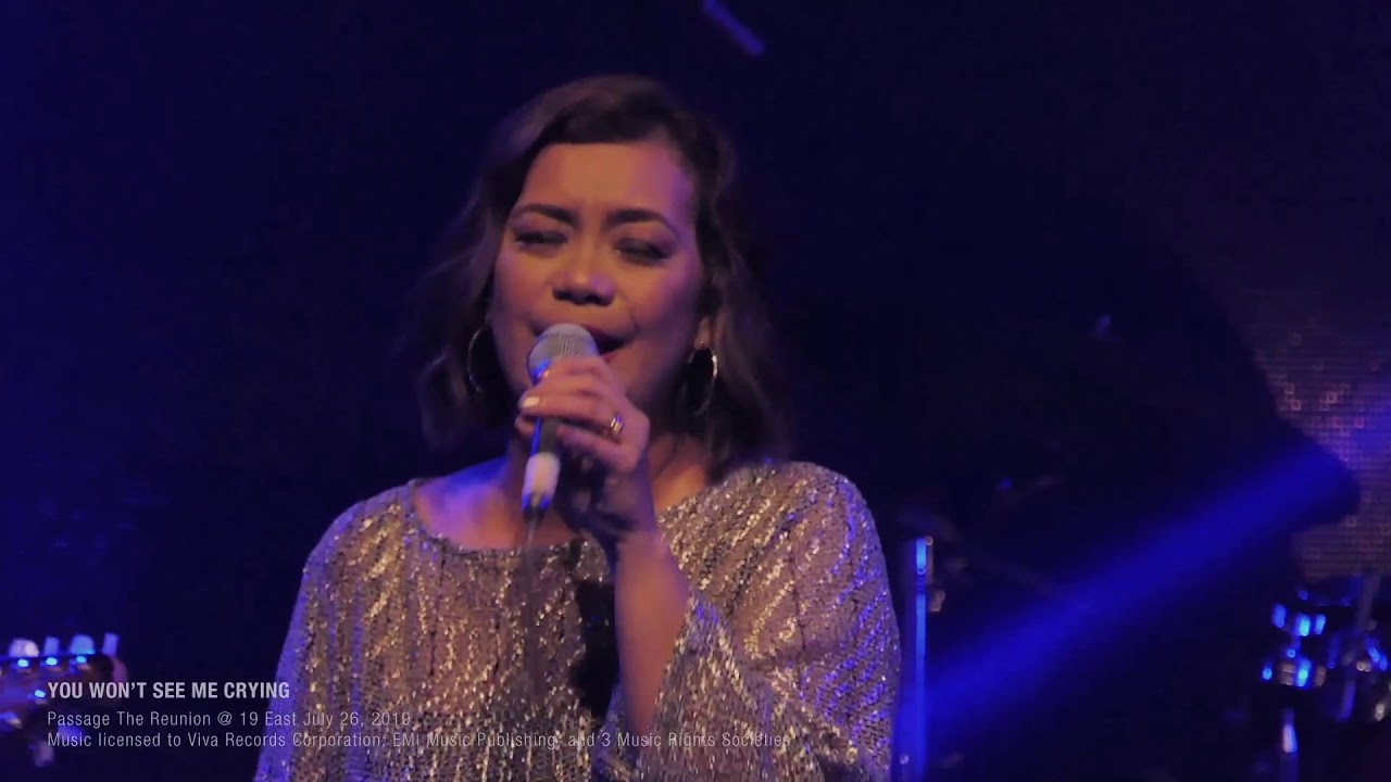 Download You Won't See Me Crying - Finale Song PASSAGE REUNION 2019