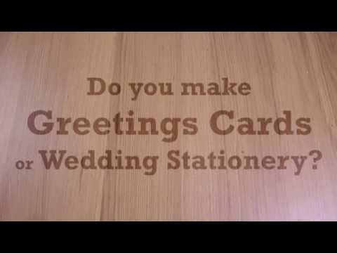 In this video, we make wedding stationery with our White Toner Printers. To learn more about White Toner printers, click here: http://www.printerbase.co.uk/white ...