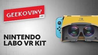 Nintendo Labo VR kit   GEEKOVINY