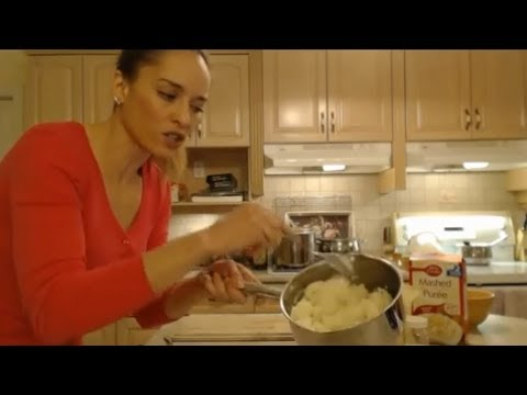 Betty Crocker Instant Mashed Potatoes What I Say About Food Youtube