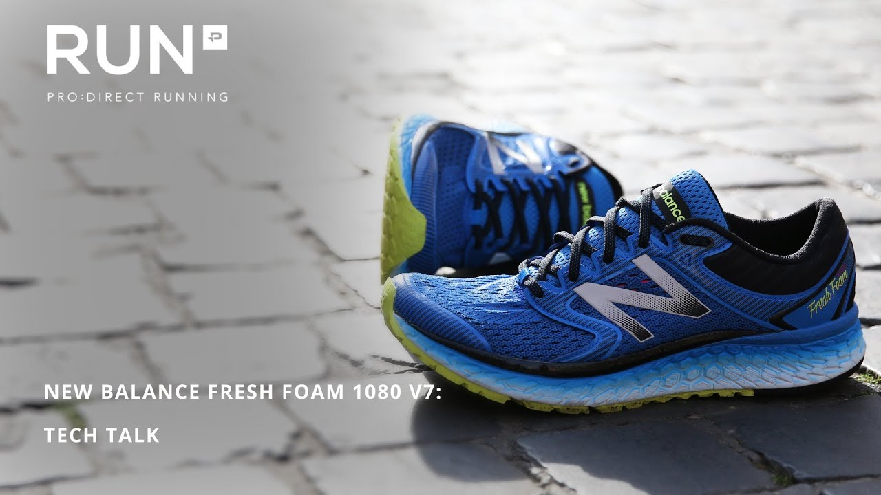 New Balance Fresh Foam 1080 v7: Tech Talk