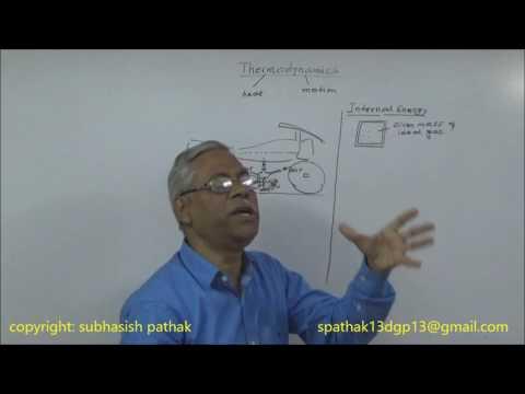 IIT-JEE Physics Thermodynamics lecture by Subhasish Pathak B.Tech,IIT Kharagpur