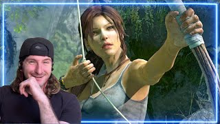 Archer REACTS to Tomb Raider - The Reboot | Experts React