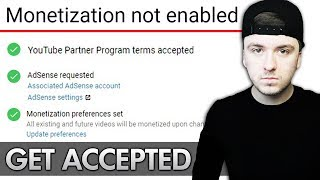 Video How To Apply For YouTube Partnership & Get Accepted (2018) download MP3, 3GP, MP4, WEBM, AVI, FLV September 2018