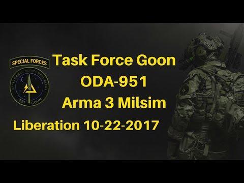Arma 3 Milsim Operation: ODA 951 - Liberation 10-22-2017