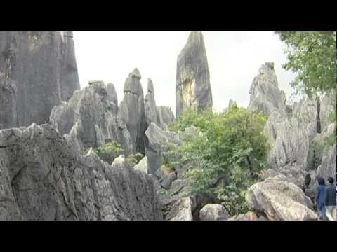 Kunming, Yunnan, Shilin Steinwald - China Travel Channel