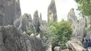 Kunming, Yunnan, Shilin Steinwald - China Travel Channel