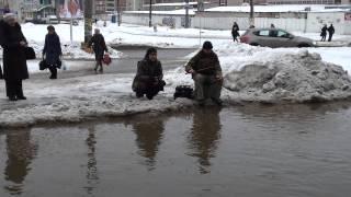 Рыбалка на Киселе( Смоленск )(Дороги Смоленск., 2013-02-12T12:31:33.000Z)