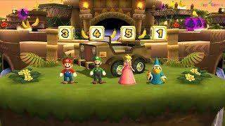 Mario Party 9 Minispiele Teil 29 - DK ' s Jungle Ruins - Cartoons - Spiele für Kinder - Spiele supe