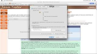 Java Application Blocked by Security Settings - Mac OS X