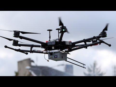 Pokaz drona antysmogowego