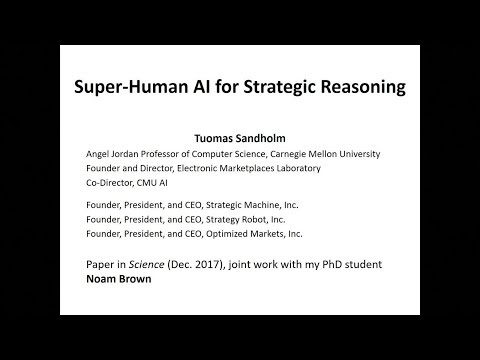 Super-Human AI for Strategic Reasoning