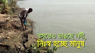 বসন্তেও ভাঙছে নদী , নিঃস্ব হচ্ছে মানুষ| bdnews24.com