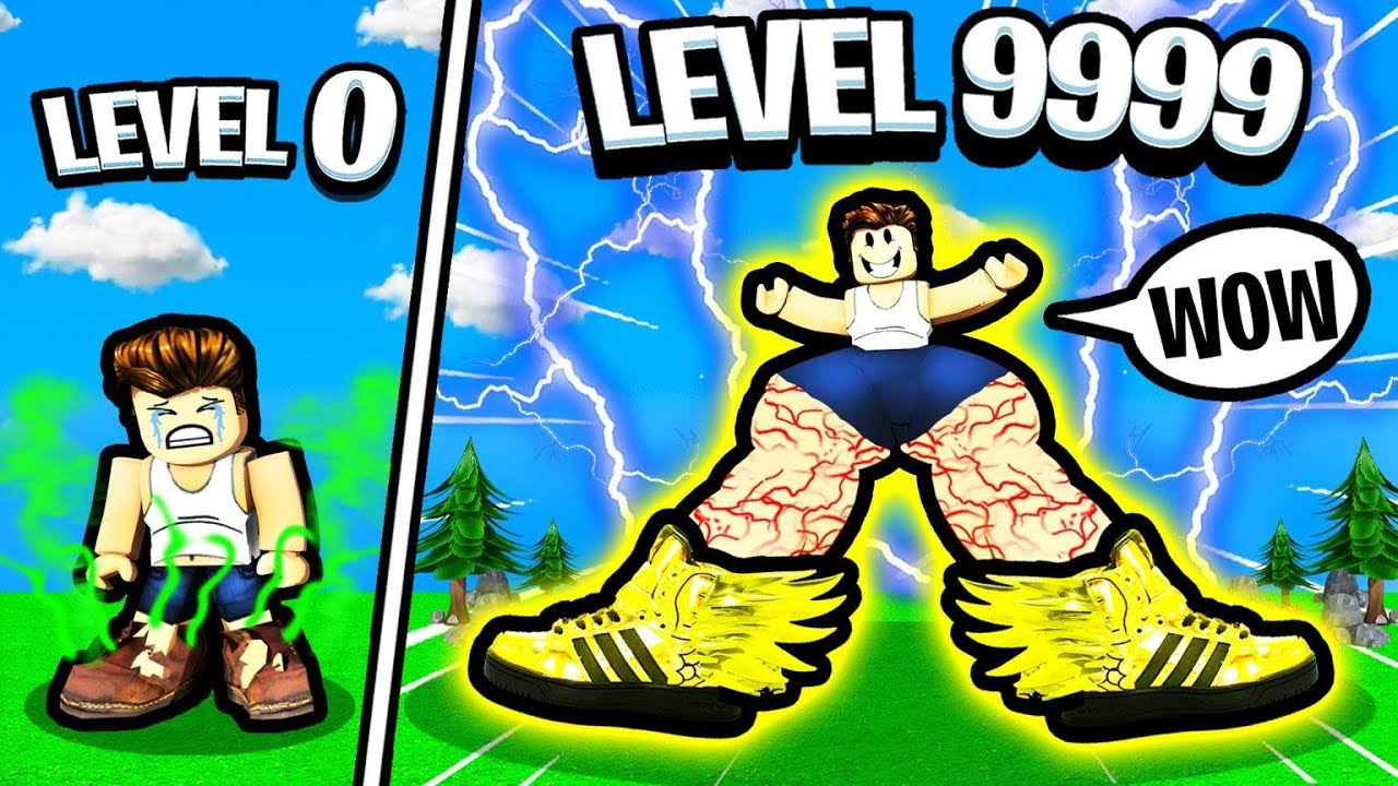 Upgrading my Shoes untill I RUN THE FASTEST! - Roblox Shoe Simulator