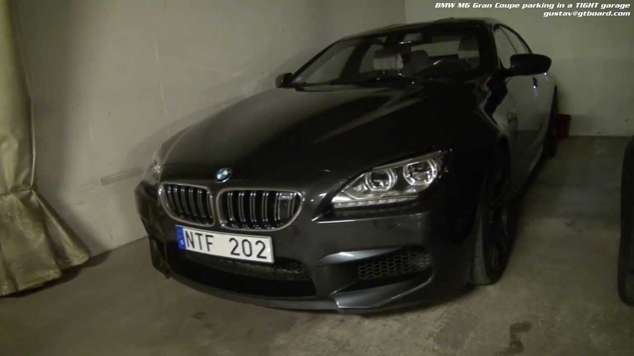 Garage the bmw m6 gran coupe with surrround view top view for Garage bmw nice