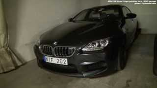 Garage the BMW M6 Gran Coupe with Surrround View (Top View + Side View), rear view camera and PDC
