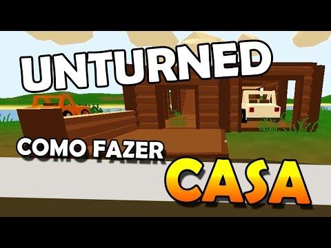 Unturned - Como Fazer Casa