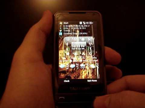 Samsung OMNIA SGH-i900 - Merry Christmas & Happy New Year !!