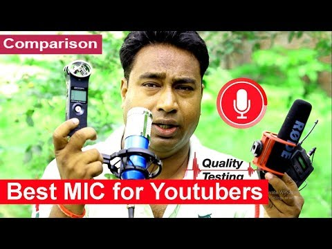 The Best Mic For Youtube | Quality Comparison - BOYA / RODE / ZOOM