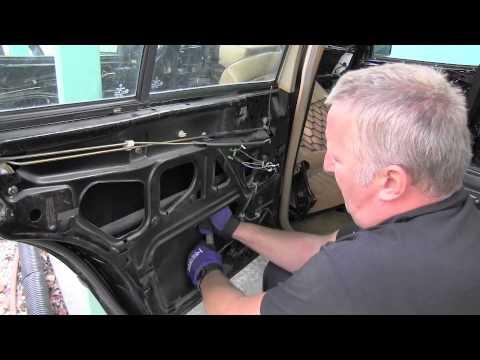 Mercedes W124 Rear Door Window Actuator Removal Youtube