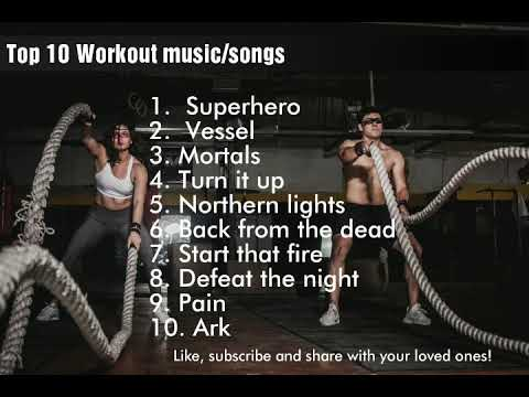 Top 10 songs for Workout |Best gym songs/music |English | Workout/gym Motivation| February 2019