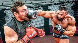 Bodybuilder vs MMA! BJJ, Boxen und Straßenkampf! ( Seminar mit Mirko Cro Cop )