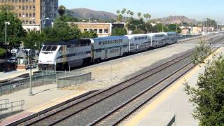 Union Pacific, Metrolink, and Amtrak at Pomona (7/17/13)