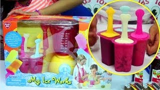 PlayGo My Ice Works - Make Cookies and Cream, Fruit, Yogurt Ice Pops