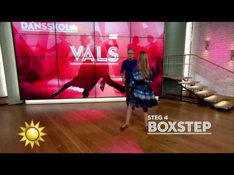 Lär dig dansa vals i Tony's dansskola! - Nyhetsmorgon (TV4)