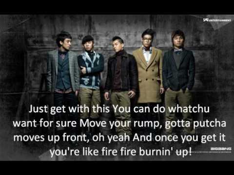 Big Bang - Love Club Lyrics Eng. Ver.