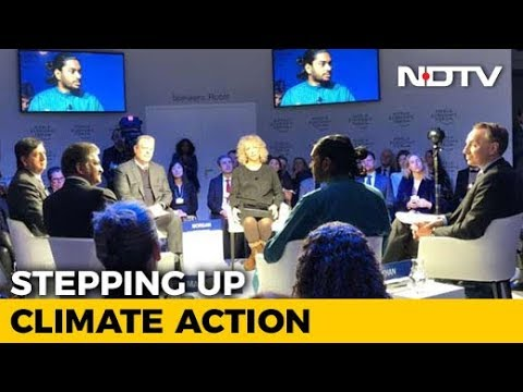 World Economic Forum Debate: Stepping Up Climate Action