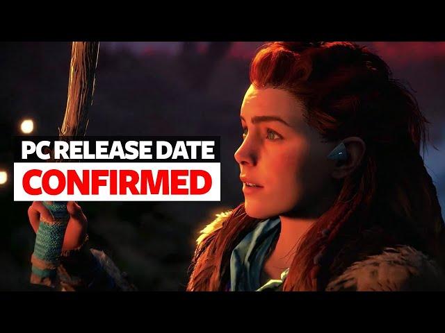 Horizon Zero Dawn PC Release Date Confirmed