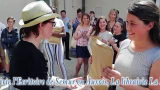 Atelier d'écriture au collège François POMPON Saulieu (21).