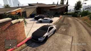 Balade en voitures sur GTA V