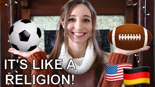 SPORTS in the US vs Germany Giveaway German Girl in America